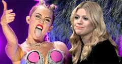 //miley cyrus kelly clarkson  wide