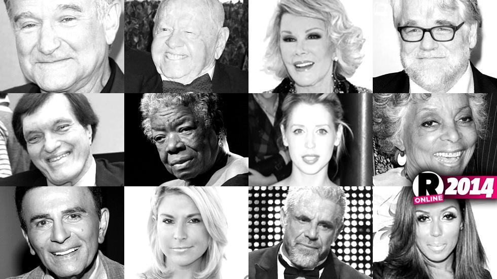 celebrity deaths 2014