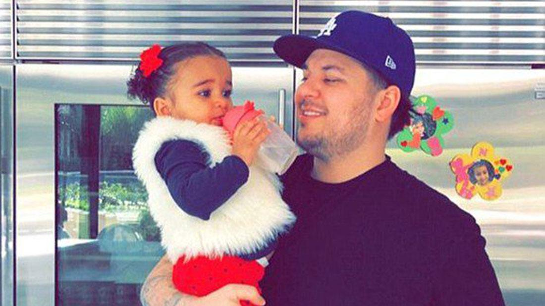 Rob Kardashian Forced To Relocate Dream's Birthday As Fires Scorch Up Calabasas