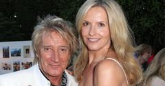 Rod Stewart Young Wife Penny Lancaster Renew Wedding Vows