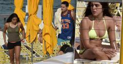 Madonna's Daughter Lourdes Leon Wears Yellow Bikini With Boyfriend