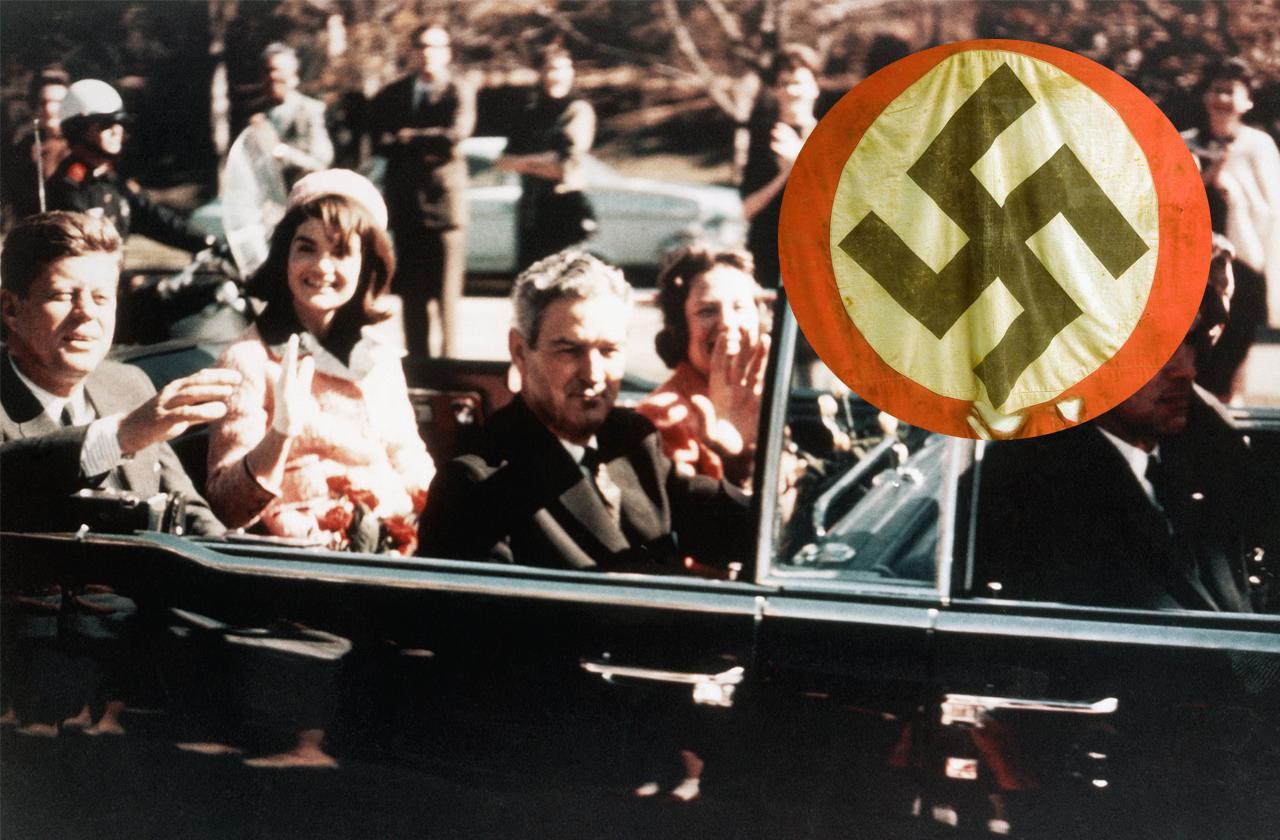 //new book claims nazis murdered jfk pp