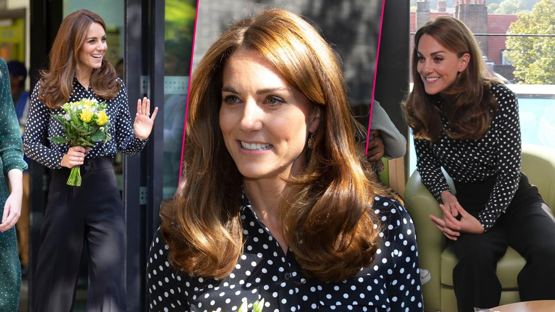 Duchess Kate Middleton Dressed Casual As She Visited Sunshine House Children and Young People's Health and Development Centre in London