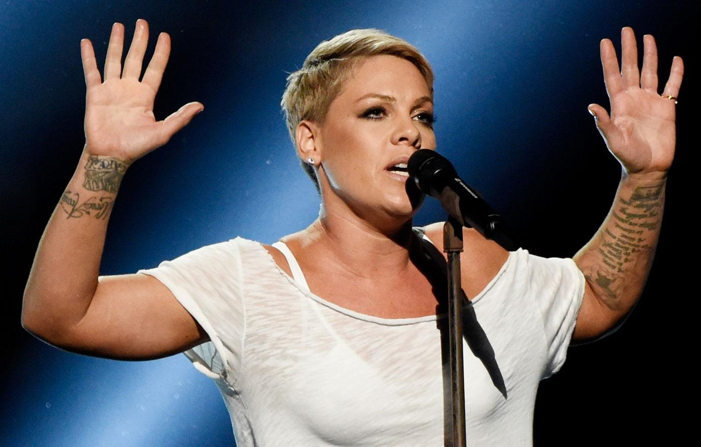 Pink Asked To Lip Sync At Super Bowl