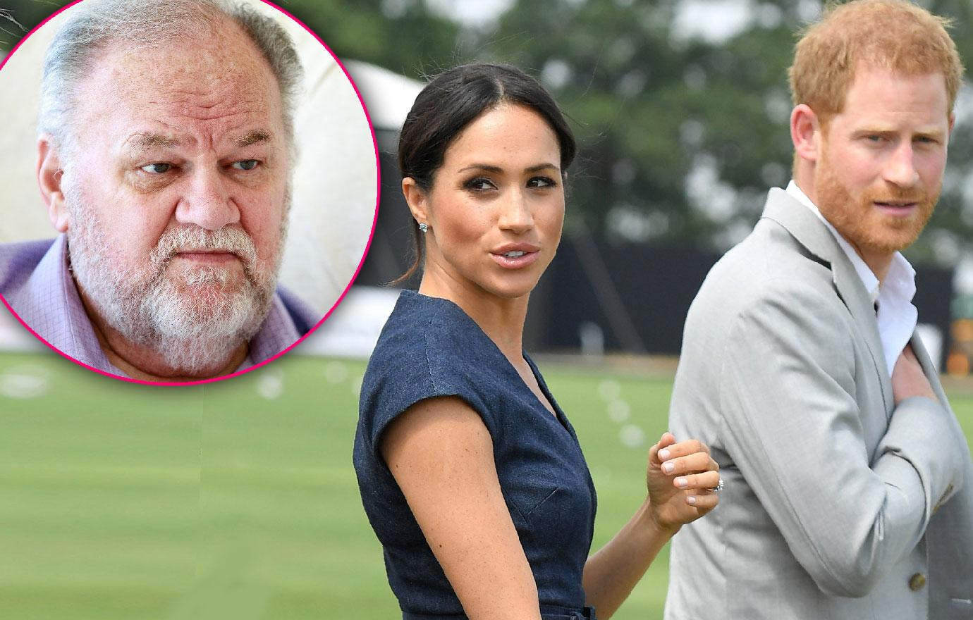 Prince Harry And Meghan Markle Will Not Comment On Thomas Markle