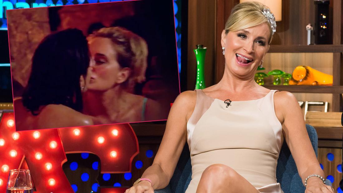 Sonja Morgan Drops Bombshell On Lesbian Kisses