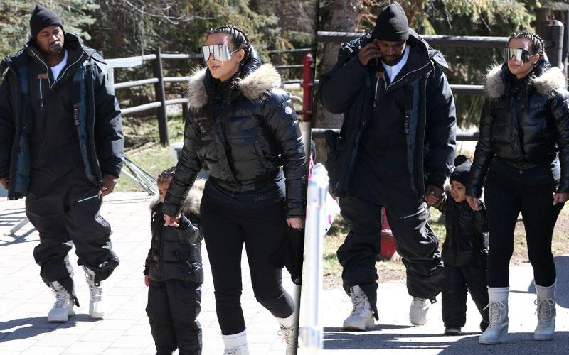 Kanye West Kim Kardashian Marriage Crisis Vacation Vail Colorado