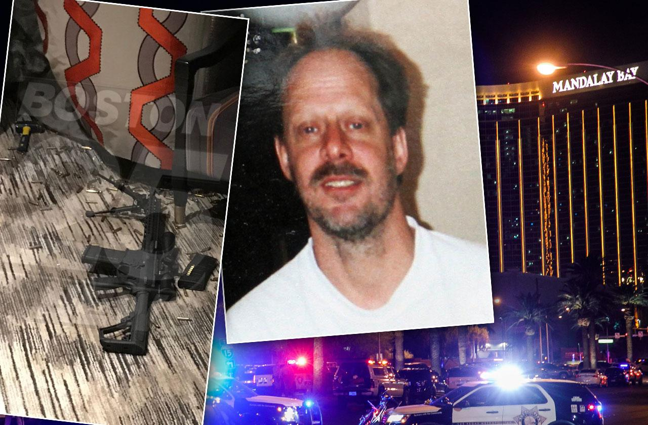 //las vegas shooting shooter stephen paddock hotel room photos  pp