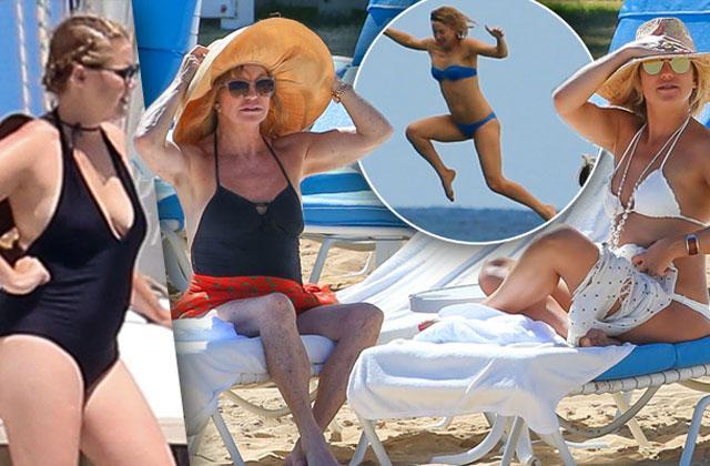 //kate hudson goldie hawn bikini photos hawaii  pp