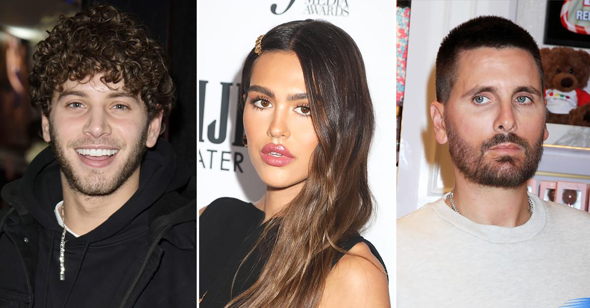 amelia hamlin spotted double date eyal booker brother break up scott disick r