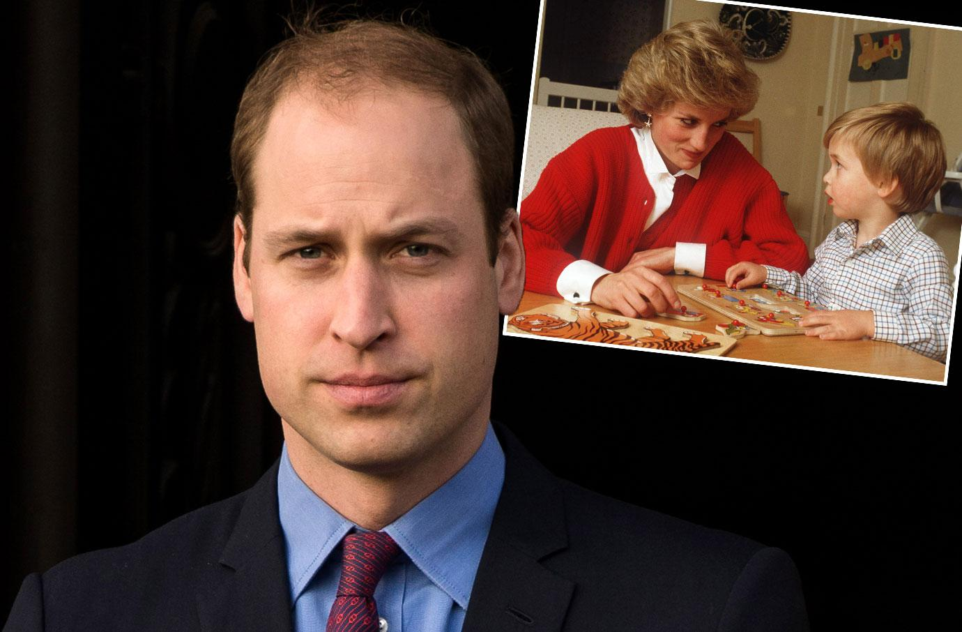 Prince William Princess Diana Death Interview