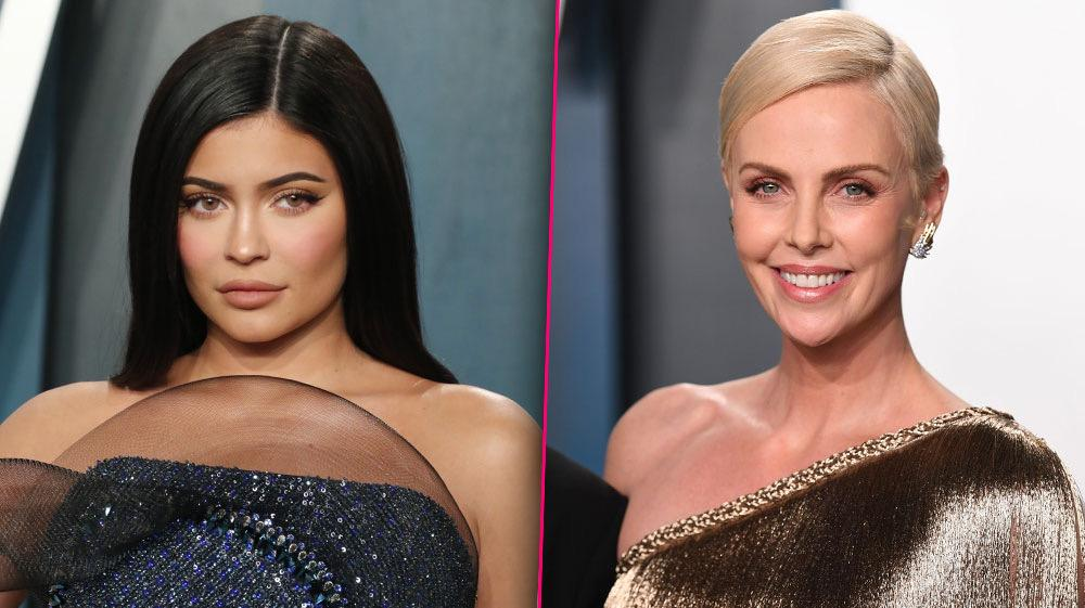 Kylie Jenner Responds After Charlize Theron Pokes Fun at Her Makeup Skills