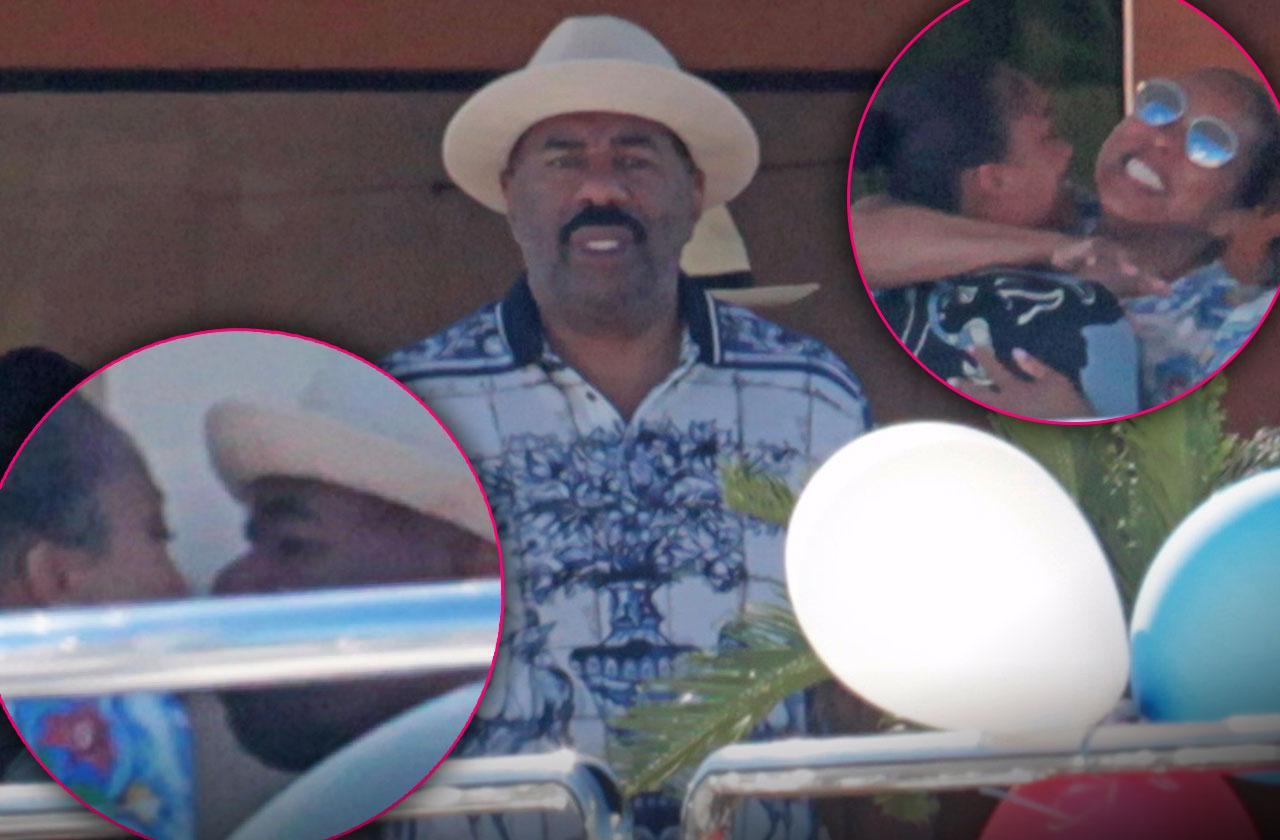 Steve Harvey Scandal Problems Marriage Career Vacation
