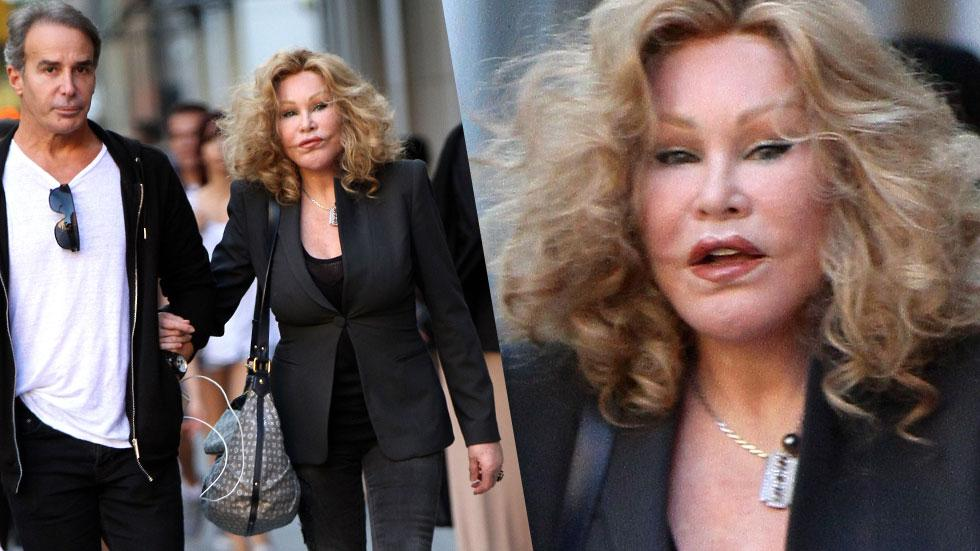 Jocelyn Wildenstein New York City Photos