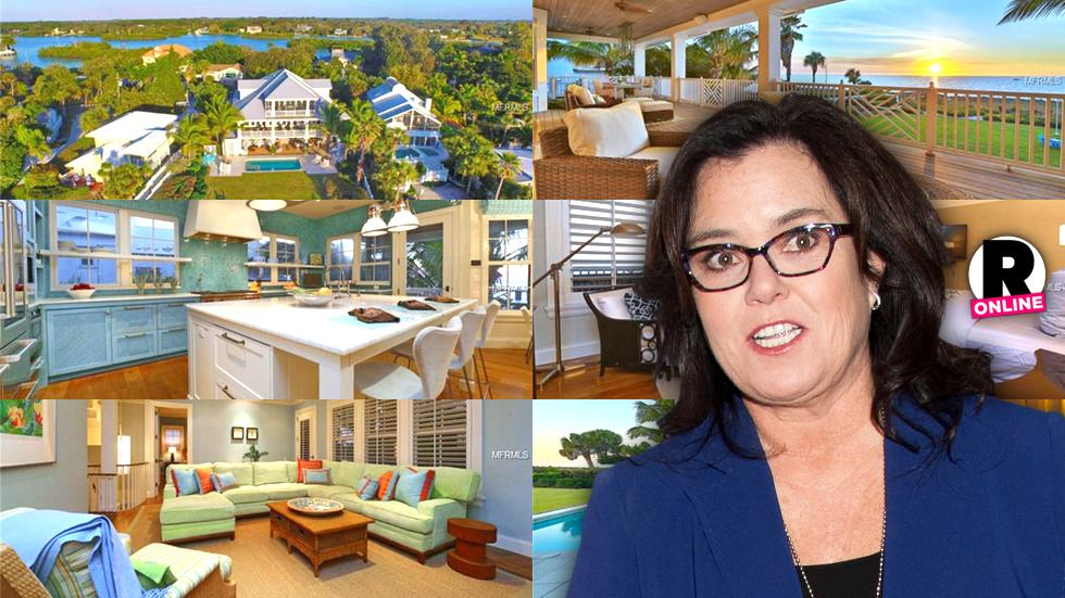 Rosie O'Donnell Divides Divorce Assets Selling Florida Home