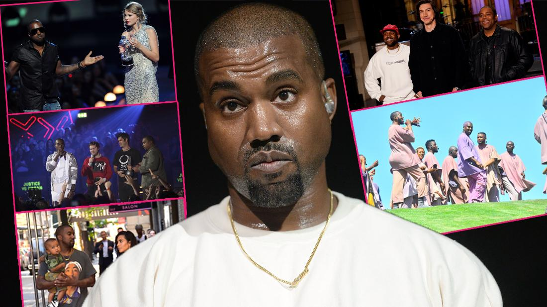 Kanye West Controversial Scandal Moments