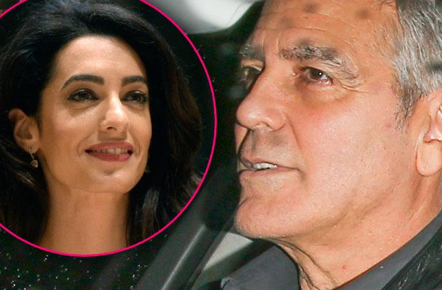 Amal Clooney Pregnant Twins George Stay Home Dad