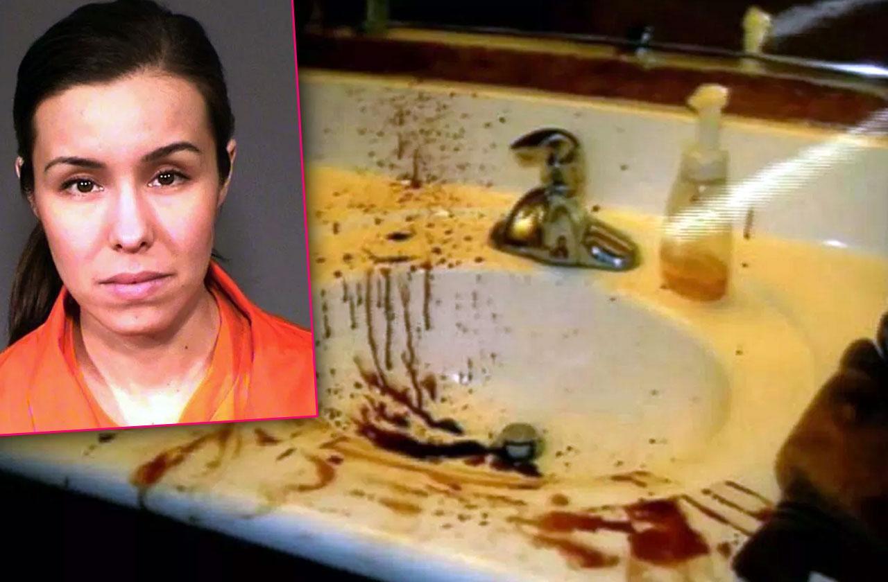 //jodi arias murder travis alexander bloody crime scene