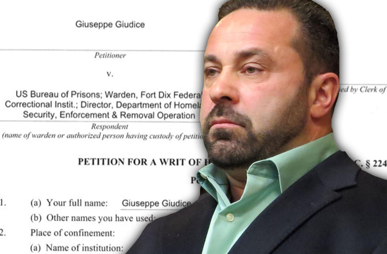 //joe giudice prison sentence early release date alcohol program deportation hearing pp