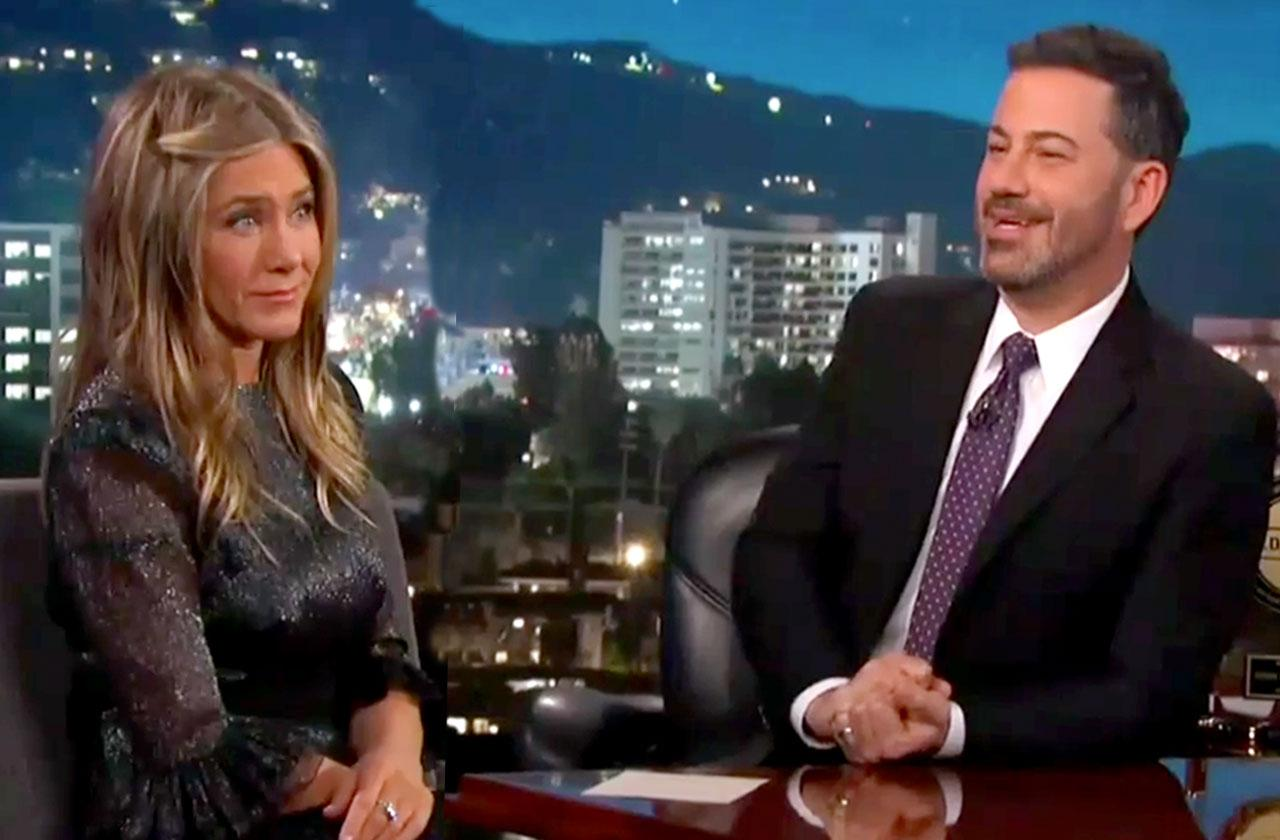 Jimmy Kimmel Daughter Pooped Jennifer Aniston Yard