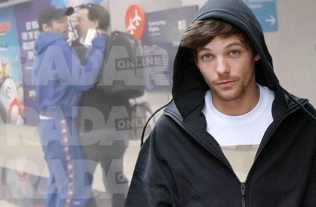 Louis Tomlinson Arrested Attacking Paparazzi Airport Brawl Takeout