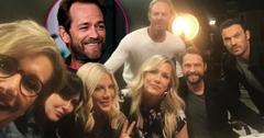 'Beverly Hills, 90210'Cast Reunites After Luke Perry's Death