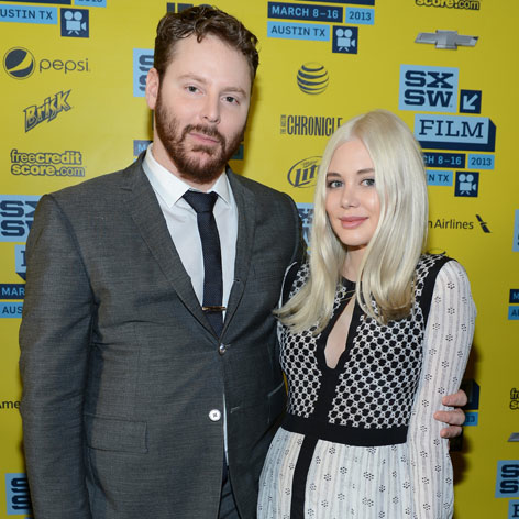 //sean parker alexandra lenas square getty
