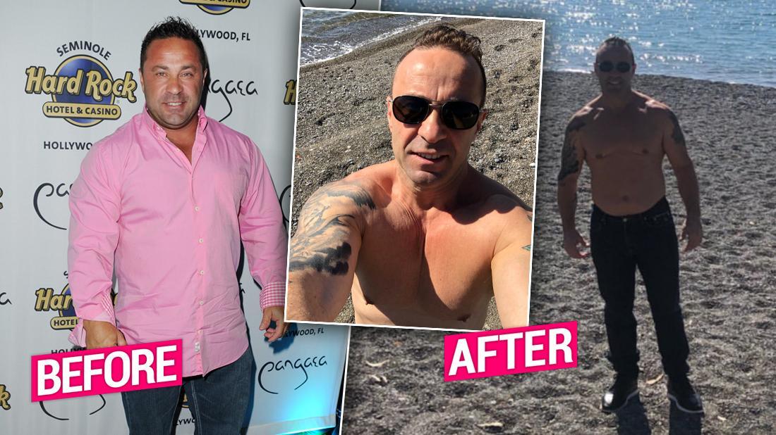 Shirtless Joe Giudice Shows Off Major Weight Loss