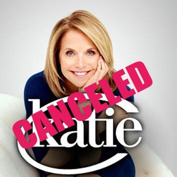//katie courics talk show canceled