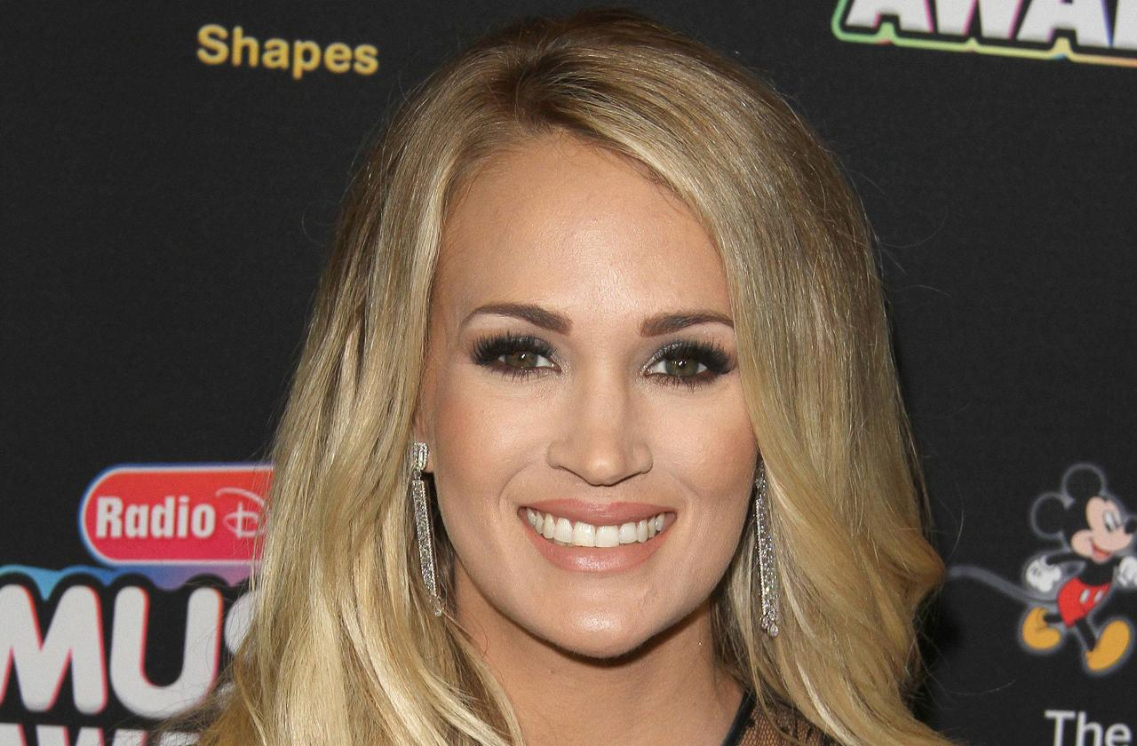 Carrie Underwood Plastic Surgery Stitches Accident