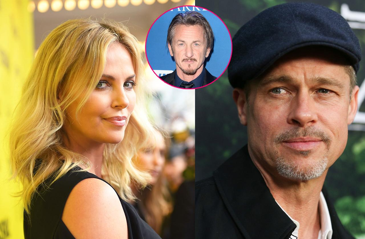 //brad pitt and charlize theron dating pp
