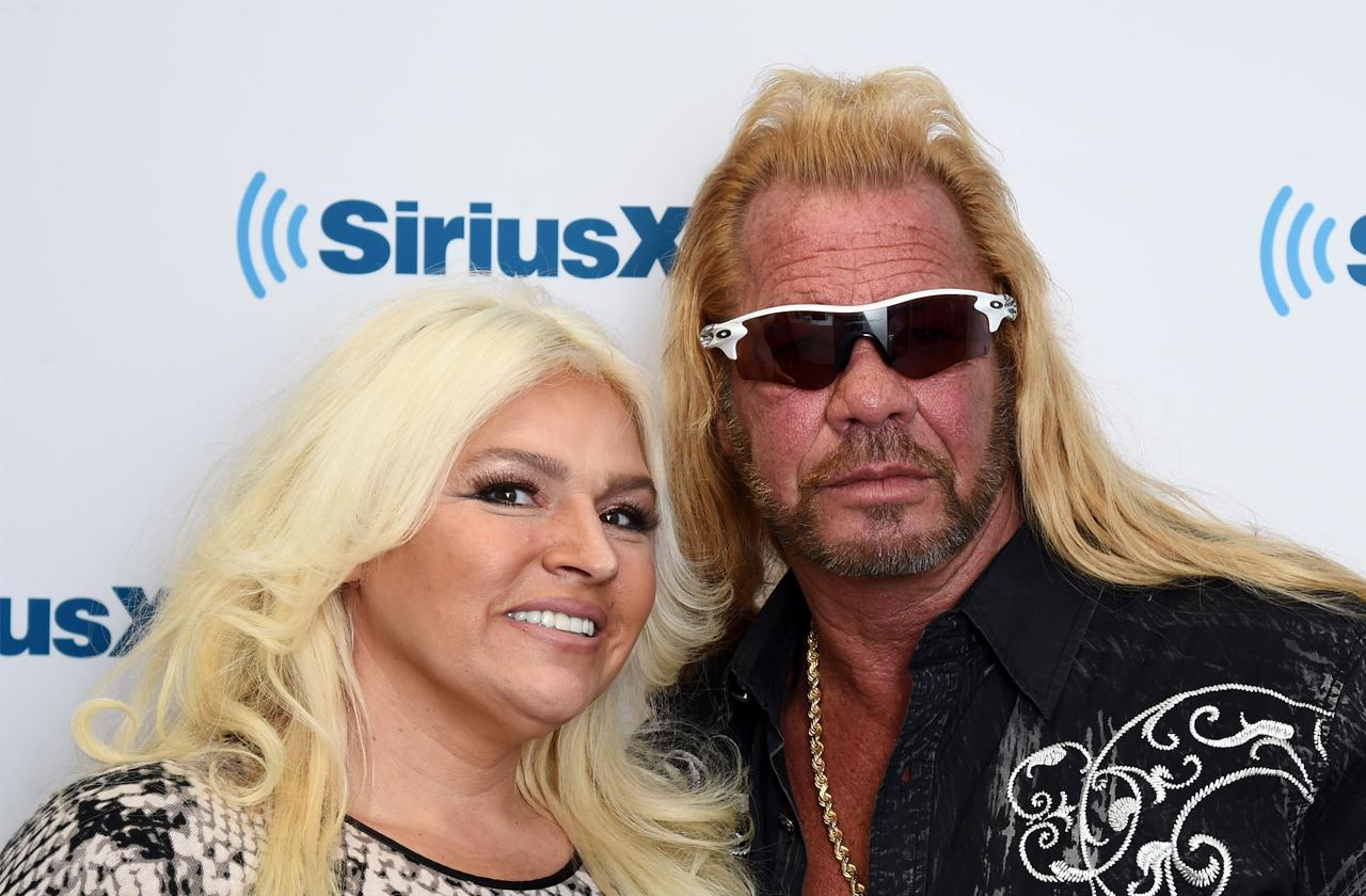 //beth chapman and duane chapman celebrate wedding anniversary pp