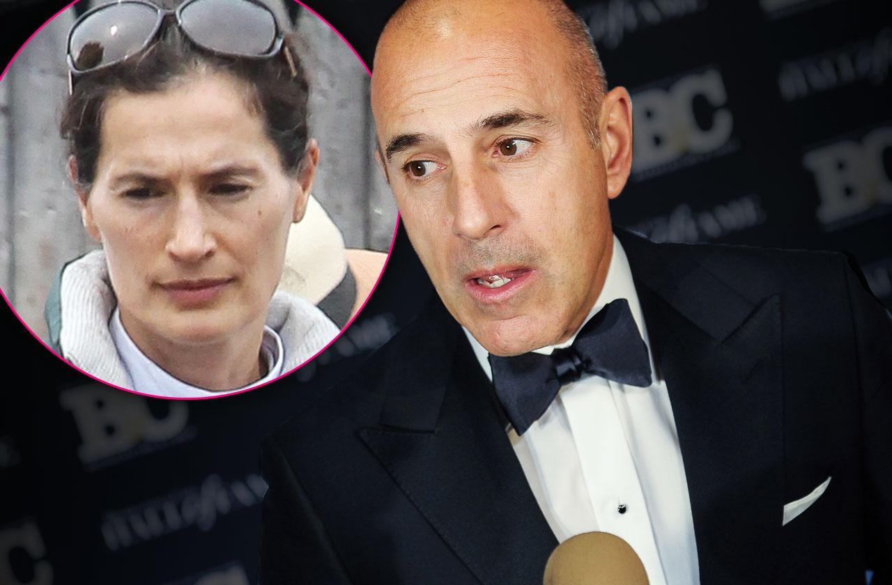 //Matt Lauer Wife Annette Roque Files For Divorce pp
