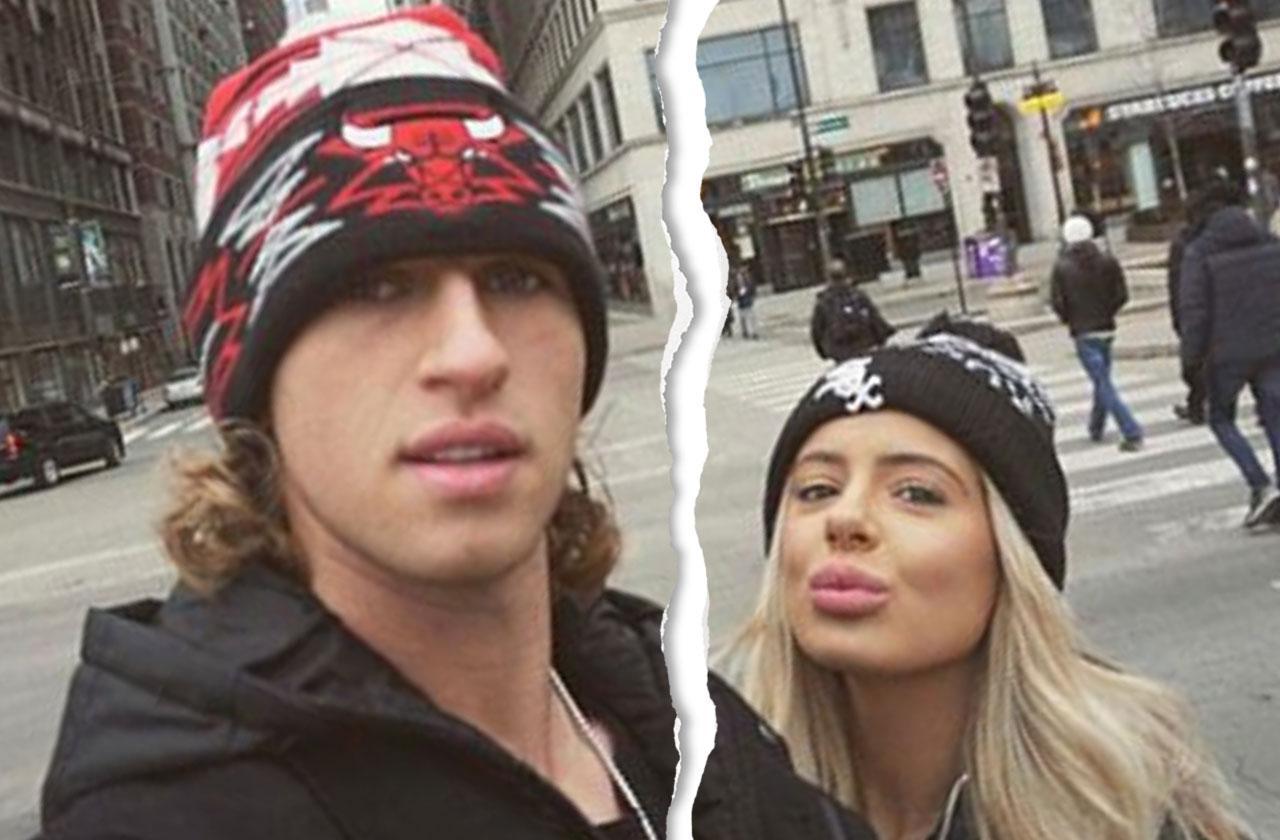 Brielle Biermann Split Boyfriend Michael Kopech