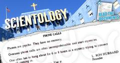 //scientology weirdest rules revealed phones are psycho dont open mail wide