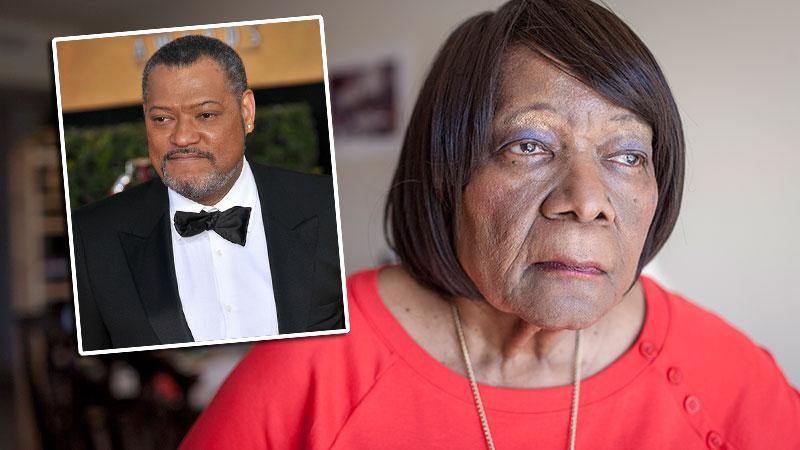 //Laurence Fishburne Mother Evicted