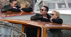 Anna Faris boyfriend Michael Barrett Italy PDA
