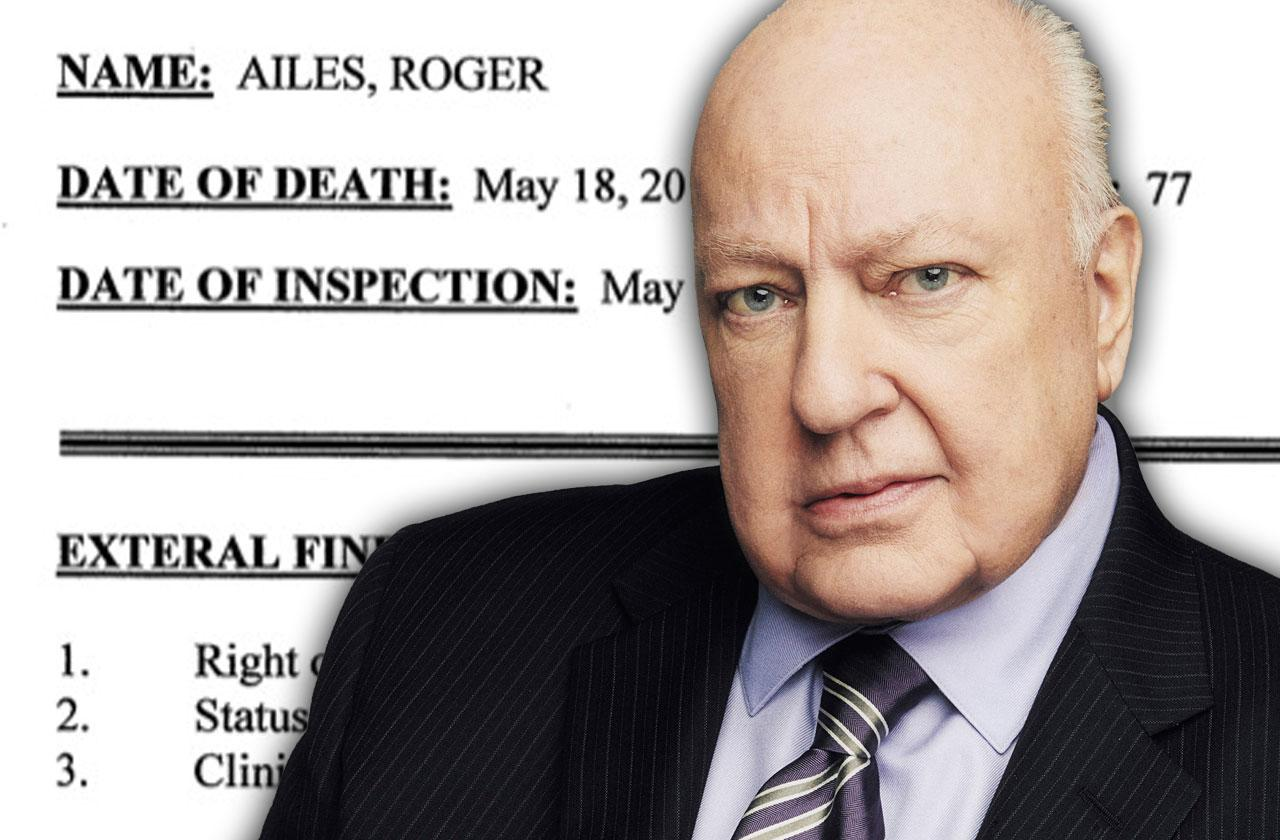 //roger ailes medical examiner report pp