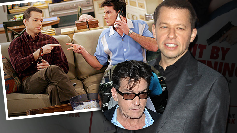 //jon cryer charlie sheen