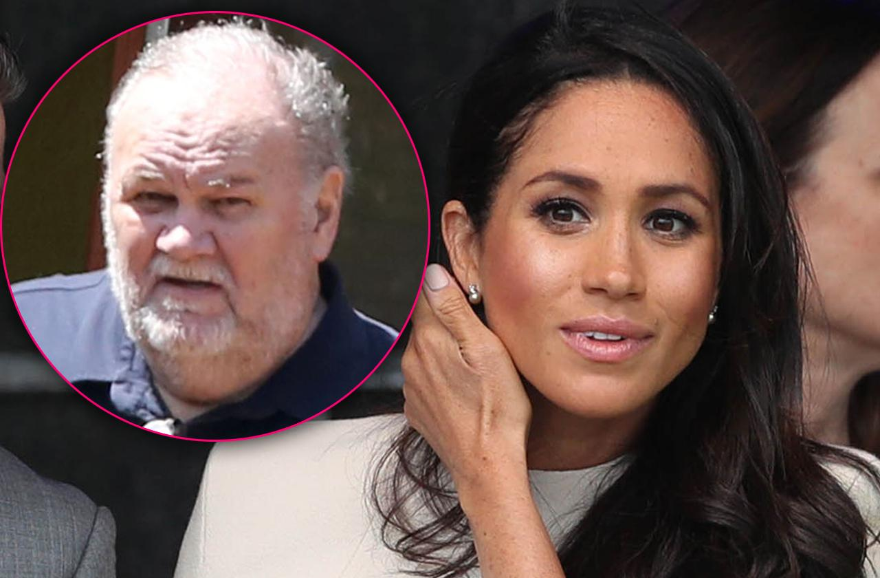 Meghan Markle's Dad Banned From Royal Events For Life