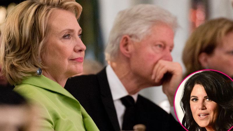 //bill clinton monica lewinsky scandal hilary reaction secrets tell all book pp