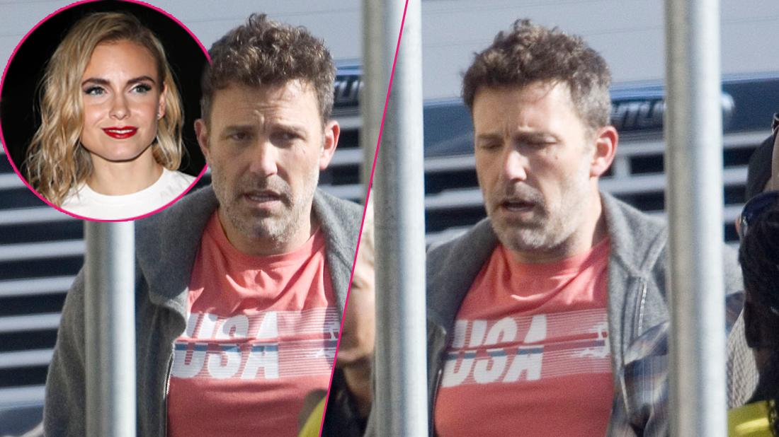 Ben Affleck Looks Disheveled While Filming After Relapse