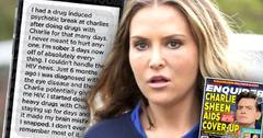 Charlie Sheen HIV Positive Brooke Mueller Text