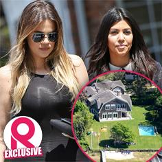 //kourtney khloe kardashian hamptons private community complain filming kuwtk sq