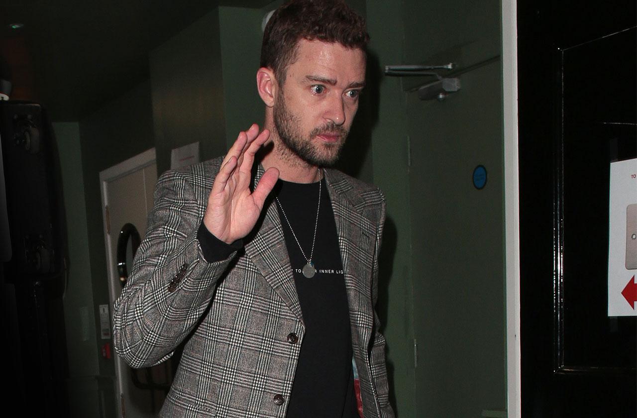 Justin Timberlake Doorknob Germaphobe
