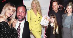 Left, Christie Brinkley and Billy Joel at the Sony Party Lincoln Center New York City. Center, Christie Brinkley Bella Issue Cover Launch Party. Right, CHRISTIE BRINKLEY, HUSBAND PETER COOK AND DAUGHTER ALEXA