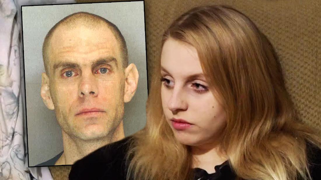 Inset JASON ALAN BEAVER Mug shot, Rachel Beaver 'Teen Mom' Rachel Beaver's Dad Arrested For Drugs