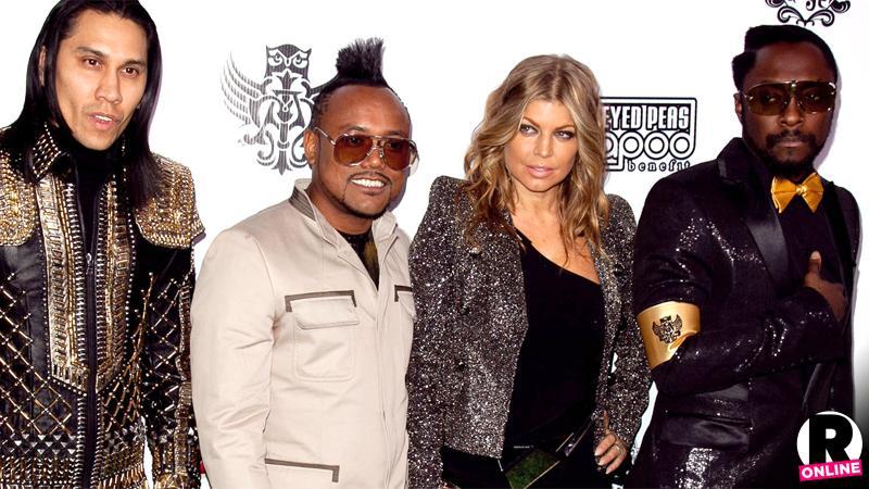 Fergie Black Eyed Peas Reunite In Studio