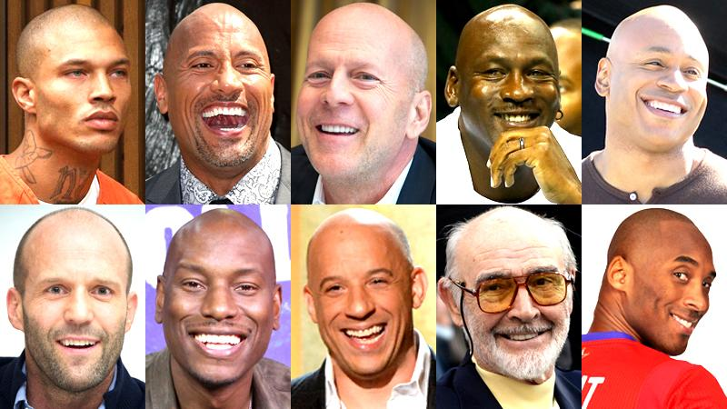//hot without hair see the sexiest  bald male celebrities pp sl