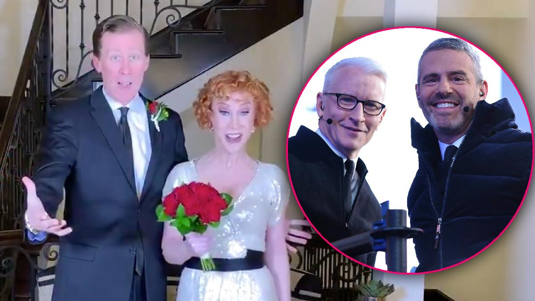 Kathy Griffin Gets Married New Year's